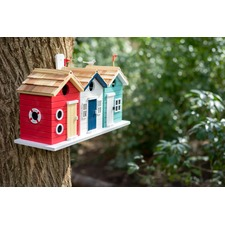 Beach Hut Birdhouse 505216