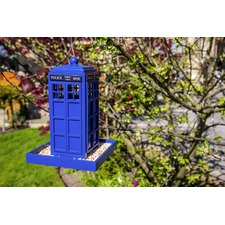 Police Box Seed Feeder 505219