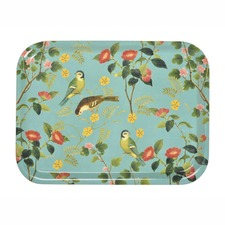 Fine China Mug and Tray - Flora and Fauna Collection