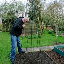 Bean Wigwam Support Frame Kit