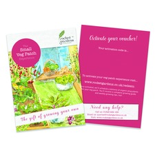 SMALL VEGETABLE GARDEN VOUCHER (organic) RGSG