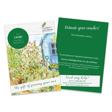 LARGE VEGETABLE GARDEN VOUCHER (organic) RGLG