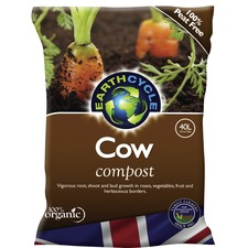 Earth Cycle Cow Compost - 40 Litre (10 Bags)