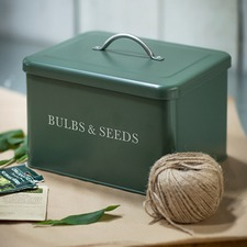 BULBS AND SEEDS TIN BXBT