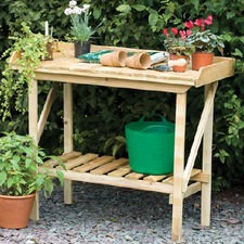 TIMBER POTTING BENCH FGPB
