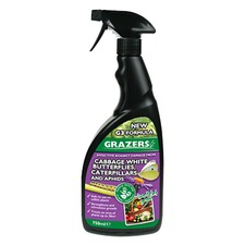 GRAZERS G3 Caterpillars, Cabbage White and Aphids Repellent, 750ml RTU spray GRAZ3
