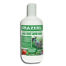 GRAZERS Rabbit and Deer Repellent, 370ml bottle GRAZ1