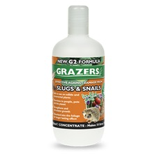 GRAZERS G2 Slug and Snail Repellent Concentrate, 350ml bottle