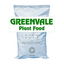 GREENVALE ORGANIC CHICKEN MANURE PLANT FOOD, 25kg bag GOPF