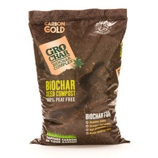 CARBON GOLD GROCHAR Seed Compost, 8 litres