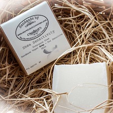 HANDMADE VEGAN SOAP Shea Sensitivity Fragrance Free WSSS
