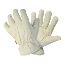MENS LINED HIDE GLOVES Large GAGH2