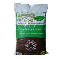 MOORLAND GOLD Multi Purpose Compost, 40 litres MGMP