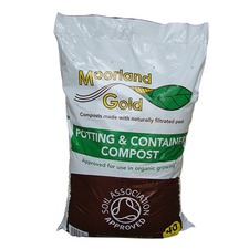 MOORLAND GOLD POTTING COMPOST, 40 litres