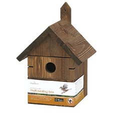 MULTI HOLE BIRD NESTING BOX BXMH