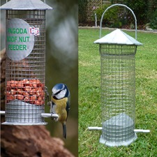 PAGODA ROOF NUT FEEDER Small KBPN