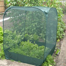 POP-UP NET CAGE zipped panel entry, High 185cm PUNC3