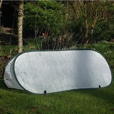POP-UP FLEECE CLOCHE, small 100cm x 40cm x 40cm PUFC1