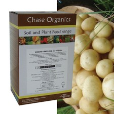 CHASE ORGANIC POTATO FERTILISER, 12kg pack (organic) CHPT3
