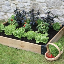 WOODEN RAISED BED 1.2m x 1m HXRB