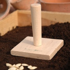 SQUARE SEED TRAY TAMPER TAMT