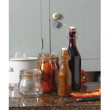 Set of 3 1 litre Mason Jars - 582549