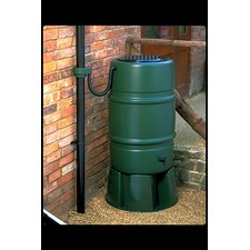 Water Butt (Child Safe) and Rain Trap (227 Litre) plus Stand & Tap (Oversized)