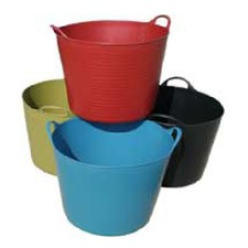 TUB TRUGS Coloured 26 litre, set 4 TUTC