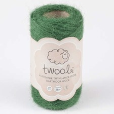 TWOOL GARDEN TWINE, 35m roll 'Green Fingers' TWOG