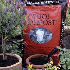 WOOL COMPOST, 30 litres