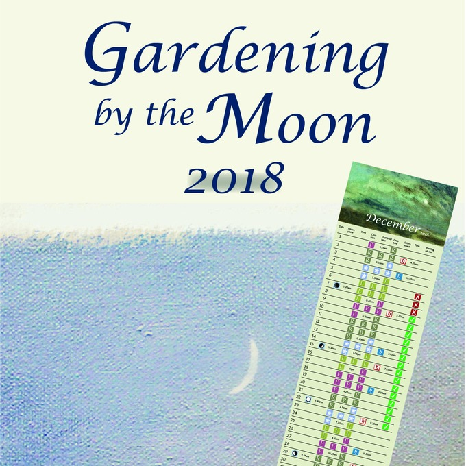 Gardening by the moon calendar 2018 michael littlewood for Gardening 2018 calendar